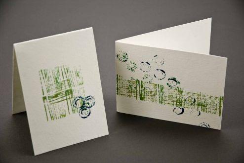 Este cartão de ano novo é ótima opção de lembrancinha para desejar boas energias para seus entes queridos (Foto: Divulgação)