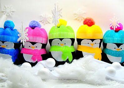 Estes pinguins de Natal irão fazer a alegria de suas crinaças (Foto: Divulgação)