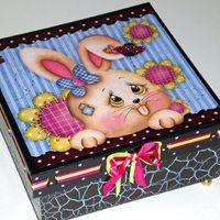 Faça esta caixa de Páscoa e prepare-se para receber muitos elogios (Foto: Divulgação)