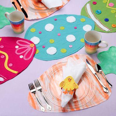 Este conjunto de mesa para Páscoa animará ainda mais o seu almoço de Páscoa (Foto: Divulgação)