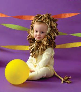 Esta fantasia de carnaval para bebê é muito fácil de ser feita e bem barata (Foto: Divulgação)