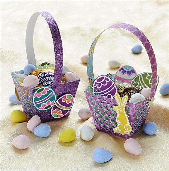 cesta de pascoa infantil (Custom)