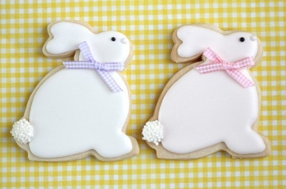 coelhinhos de biscuit