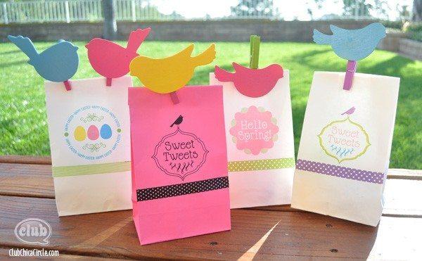 sacolas de pascoa personalizadas