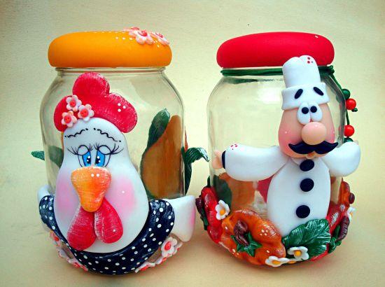 Ideias de potes de biscuit decorados não faltam, basta você escolher seu modelo preferido (Foto: Divulgação)