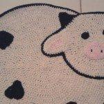 11 Tapetes de Crochê para Cozinha Preto e Branco