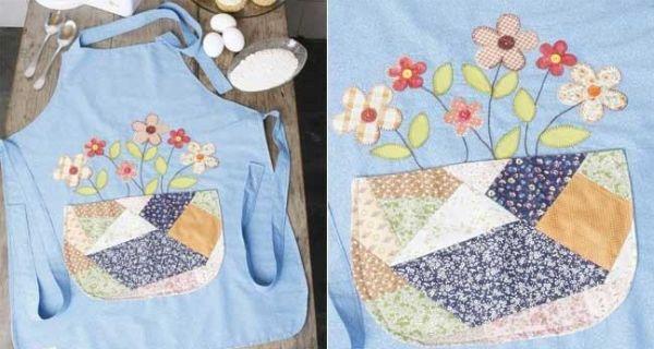 Este avental para dia das mães é diferente, mas muito charmoso (Foto: Divulgação)