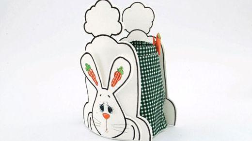 Esta cesta de chocolate em EVA é linda, sustentável e barata (Foto: Divulgação)