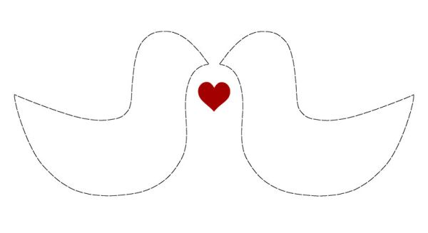 Estes 5 moldes para dia dos namorados podem resultar nos mais diversos artesanatos (Foto: Divulgação)