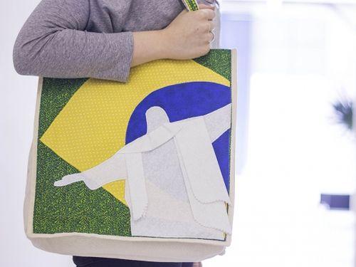 Esta bolsa para Copa do Mundo é muito fácil de ser coseguida (Foto: Divulgação)