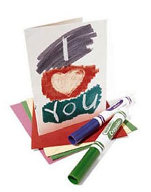 Este cartão de mensagem secreta para dia das mães é muito simples de ser conseguido (Foto: Divulgação)