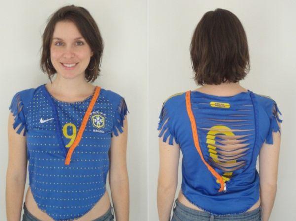 Para customizar camisa para Copa você não precisa perder muito tempo (Foto: Divulgação)