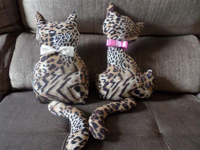 almofada de gatinho tutorial