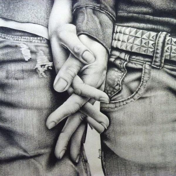 Desenhos De Namorados Imagens Fotos E 5 Moldes Para Dia