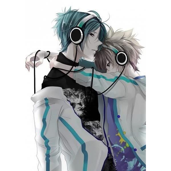 casal ouvindo musica