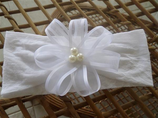 tutorial tiara de meia