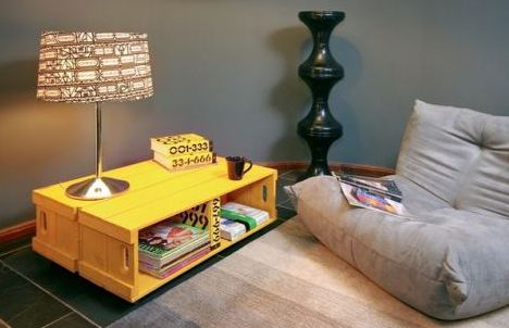 Estas ideias de artesanato para transformar caixotes transformarão também toda a decoração de sua casa (Foto: Divulgação)