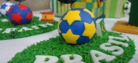 Artesanato em Biscuit para Copa do Mundo