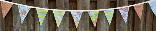 Decore sua festa com bandeirinha de tecido para festa junina e deixe seus convidados surpresos (Foto: comofazeremcasa.net)