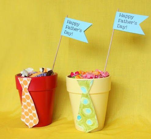 Este porta-doces para dia dos pais é uma linda lembrancinha que pode ser oferecida em qualquer confraternização (Foto: Divulgação)
