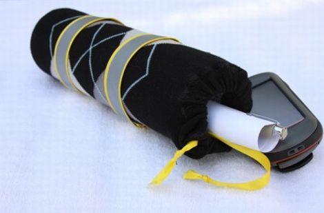 Com este artesanato com meias para dia dos pais seu herói vai ter a vida facilitada (Foto: giverslog.com)
