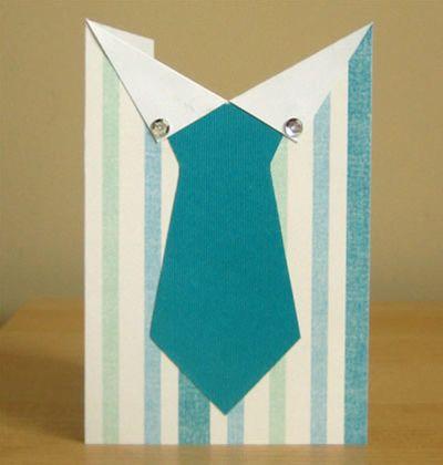 Faça esta camisa cartão para dia dos pais e encante o seu (Foto: homemade-gifts-made-easy)