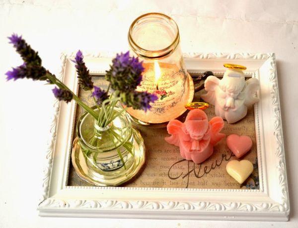 Faça decalques em vidro e renove a decoração de sua cozinha ou o momento de servir um chá, por exemplo (Foto: artefacilartesanato.com)