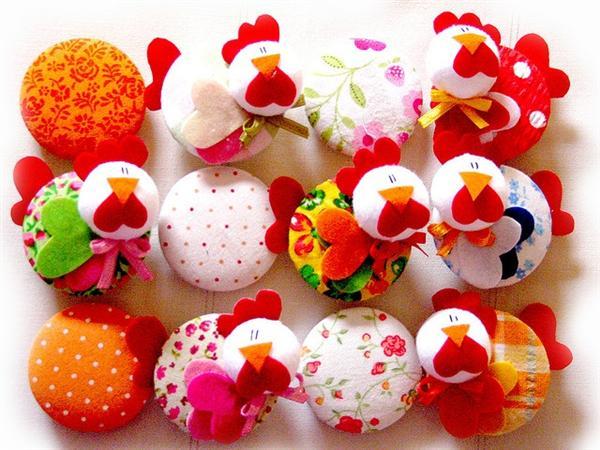 Aparador Moderno ~ 10 modelos de artesanatos com galinhas Artesanato Passo a Passo!