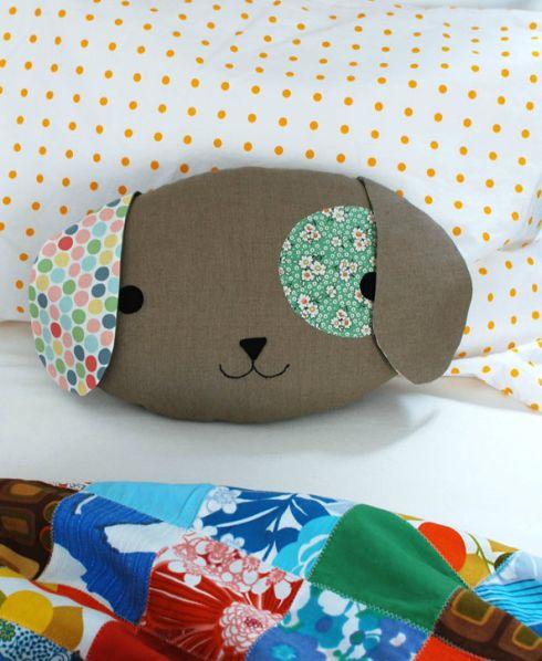 Esta almofada de cachorra vai deixar seu cantinho mais charmoso (Foto: crafts.tutsplus.com)