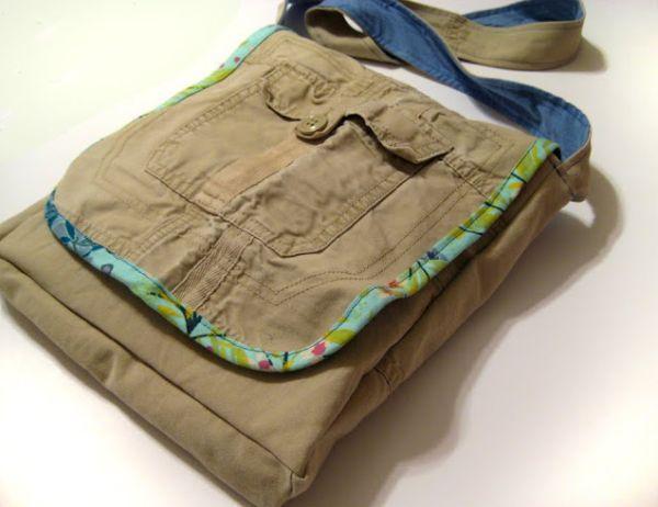 Esta bolsa de calça cargo não exige grandes experiências em corte e costura (Foto: noodle-head.com)