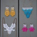 Com estes brincos com renda seus looks nunca mais serão os mesmos, serão sempre lindos e diferentes (Foto: glamourandgraceblog.com)