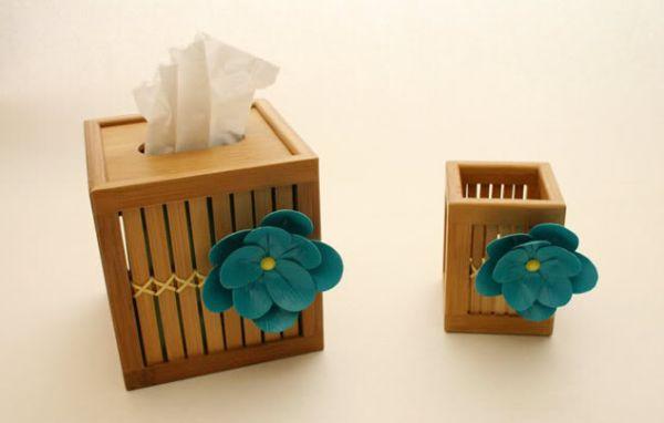 Esta flor de fita adesiva vai deixar qualquer objeto muito mais charmoso (Foto: howjoyful.com)
