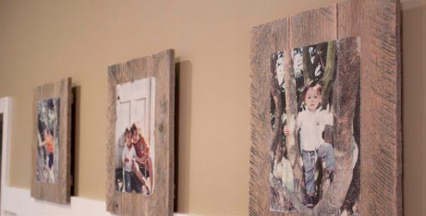 Com materiais simples você faz uma foto rústica na moldura (Foto: southernrevivals.com)