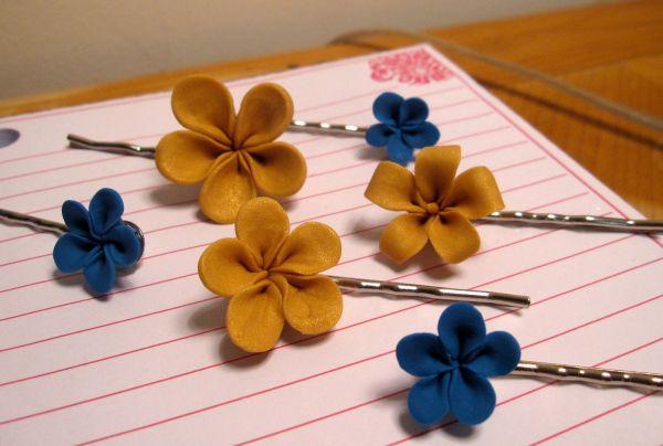Com este grampo com argila você ficará mais bonita sem esforços (Foto: thecraftycrabs.blogspot.com.br)