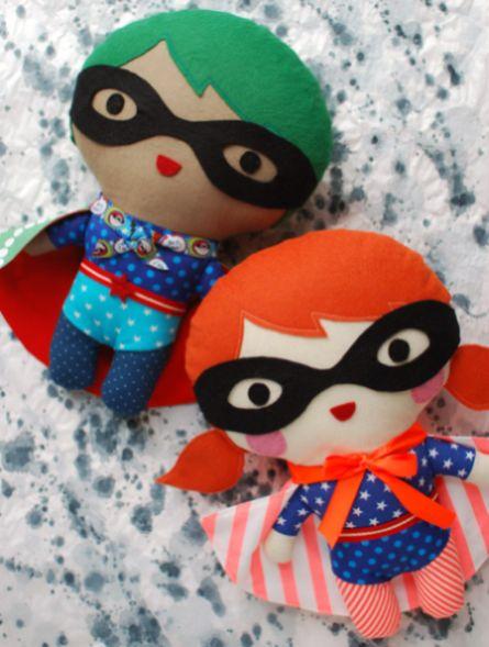 Este super-herói de pelúcia vai ser a alegria de seus pequenos (Foto: crafts.tutsplus.com)
