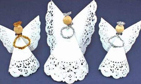 Com este artesanato com guardanapo de papel o seu final de ano vai ficar muito mais sofisticado (Foto: funezcrafts.com)