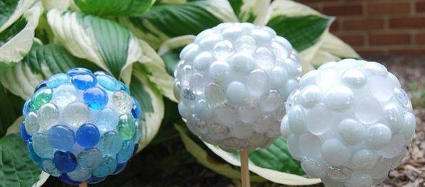 Com este artesanato para jardins a área externa de sua casa vai ficar com visual ainda mais interessante (Foto: creativemeinspiredyou.com)