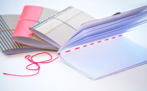 Este caderno de anotação com capa de caixa deixará a sua rotina muito mais charmosa (Foto: cremedelacraft.com)