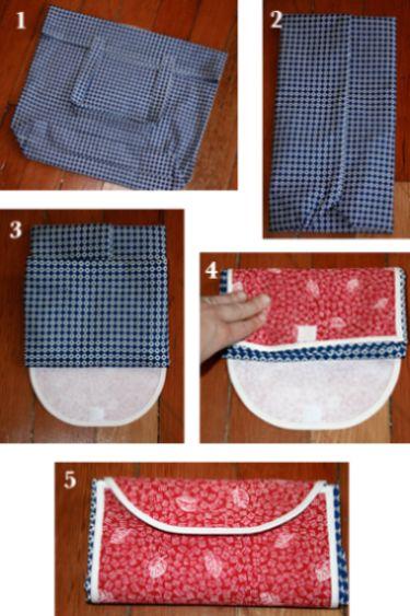 Com esta carteira bolsa o sucesso de look é garantido e a praticidade também (Foto: whipup.net)