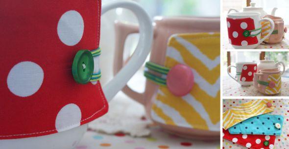 Com este enfeite para xícara seu café da manhã ou chá da tarde ficarão muito mais charmosos (Foto: whipup.net)