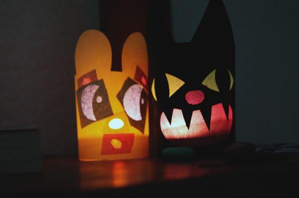 Esta simpática lanterna com cara de animal pode ser usada em qualquer local (Foto: bkids.typepad.com)
