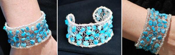 Com esta pulseira de arame todos os seus looks ficarão bem mais especiais (Foto: artzycreations.com)
