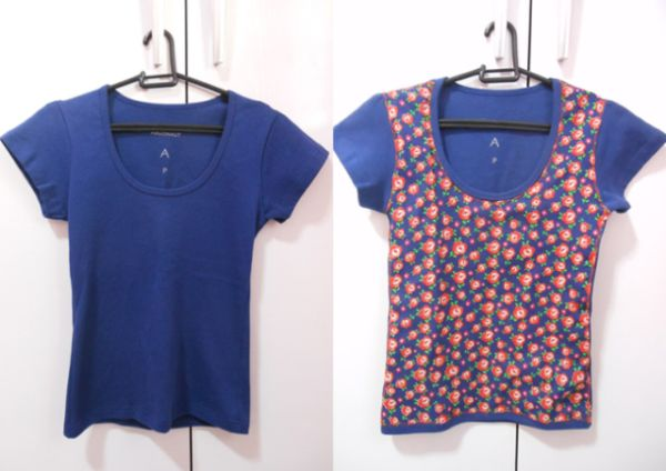 Aplicando estampa em roupas você consegue peças novas instantaneamente (Foto: minhasinger.com.br)
