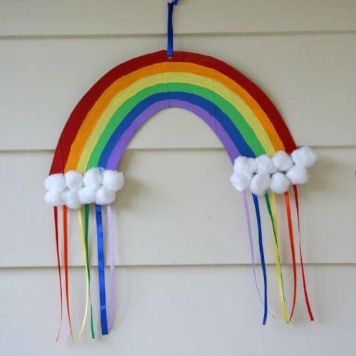 Este arco-íris de papel é bem democrático e pode frequentar vários locais (Foto: valeoclique.com.br)