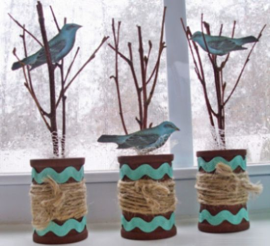 Este lindo artesanato com carretel usado pode frequentar qualquer lugar de sua casa (Foto: petscribbles.com)
