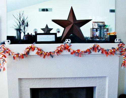 Este enfeite para dia das bruxas com doces vai deixar a sua festa ainda mais bonita (Foto: budget-news-2010.blogspot.com.br)