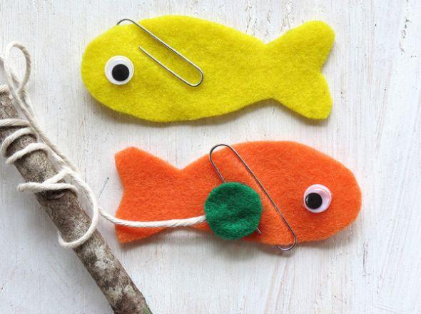 Este jogo de pescaria com imã é muito fácil de ser feito e muito divertido (Foto: realpurdy.com)