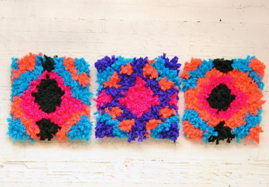 Estes quadros feitos de lã repaginam qualquer ambiente (Foto: blog.etsy.com)