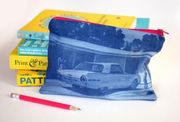 Transferindo foto para tecido você consegue estampas exclusivas e únicas (Foto: howaboutorange.blogspot.com.br)