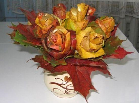 Flor de folhas é linda e muito barata (Foto: lobzik.pri.ee)